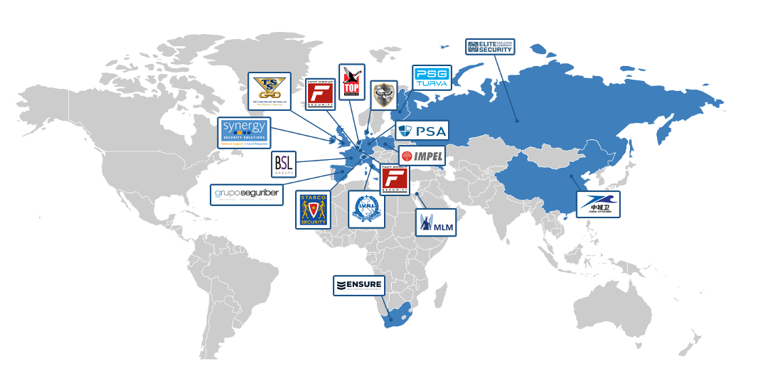 Securalliance map